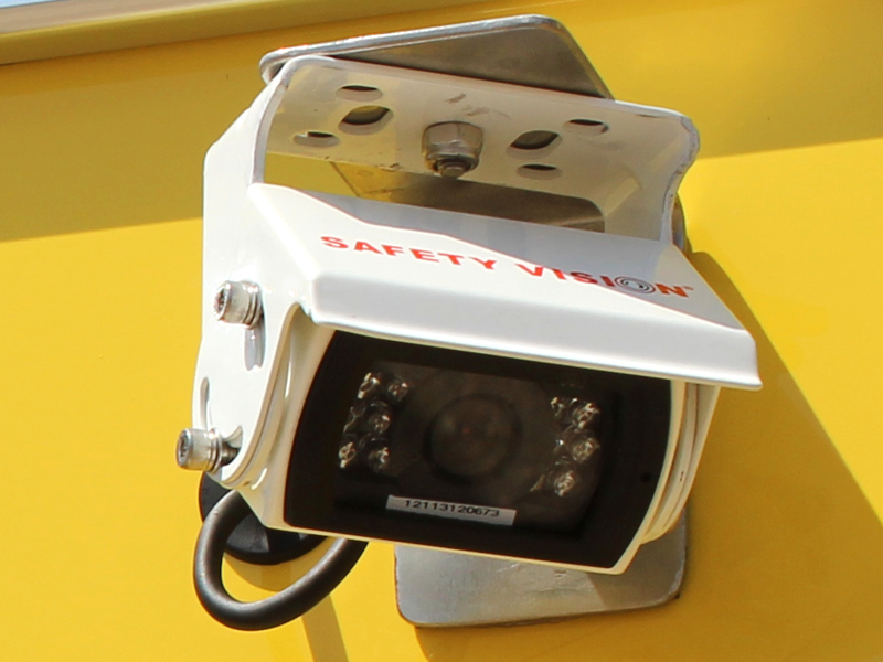 Back-Up Camera for Safety