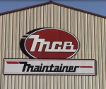 The new MCB - Maintainer sign that hangs on the plant in Rock Rapids