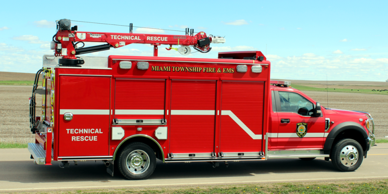 Water Rescue Truck